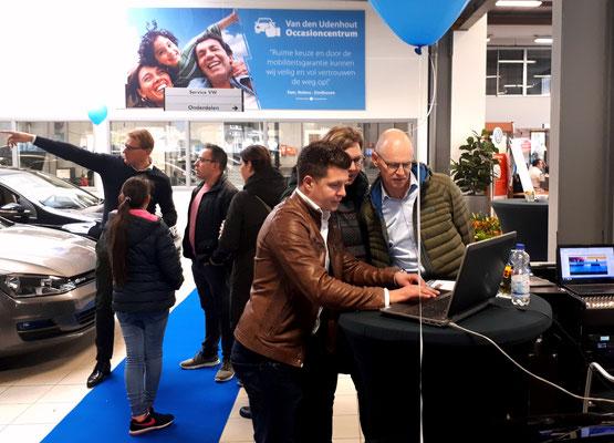 Automotive Sales Event - Van den Udenhout Son (Eindhoven) - Volkswagen-Audi-SEAT-ŠKODA - november 2018 - 64 verkochte auto's