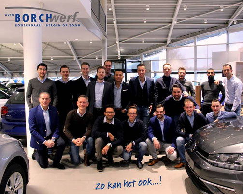 Automotive Sales Event - Auto Borchwerf Roosendaal - Volkswagen-Audi-SEAT-ŠKODA - 120 verkochte auto's in 1 weekend - november 2018