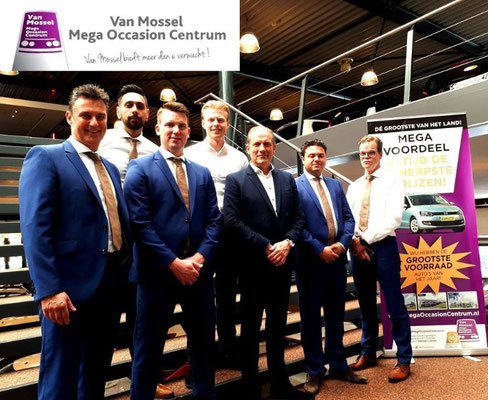Van Mossel Tilburg (Occasions alle merken) - 90 verkochte auto's in 1 weekend - juni 2019