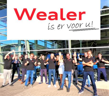 Wealer Heerlen (Volkswagen-Audi-SEAT-ŠKODA-Volkswagen Bedrijfswagens) - 36 verkochte auto's in 1 weekend - september 2020