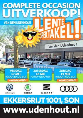 Buitenreclame - Automotive Sales Event - Van den Udenhout Son (Eindhoven) - Volkswagen-Audi-SEAT-ŠKODA - mei 2019