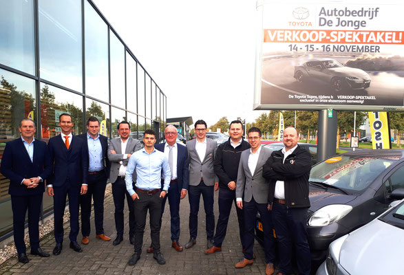Toyota De Jonge Goes - 44 verkochte auto's in 1 weekend - november 2019