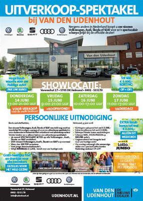 DM - Automotive Sales Event - Van den Udenhout Helmond - Volkswagen-Audi-SEAT-ŠKODA - 35 verkochte auto's in 1 weekend