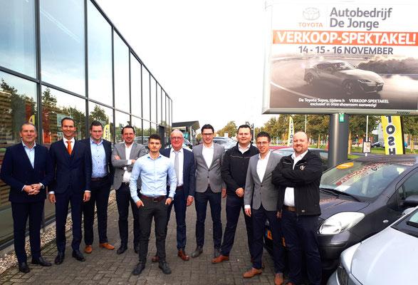 Toyota De Jonge Goes - 44 verkochte auto's in 1 weekend - november 2019