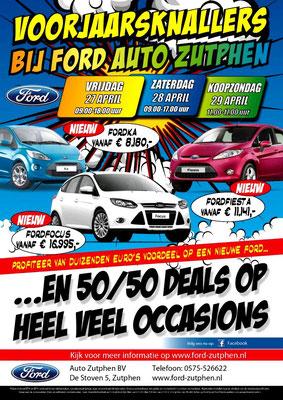DM - Automotive Sales Event - Mailing Ford Auto Zutphen