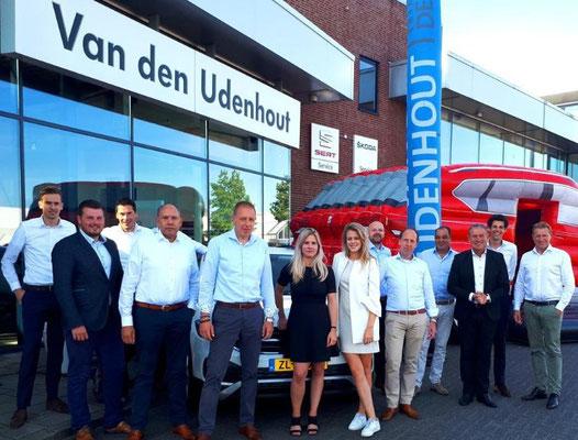 Van den Udenhout Helmond (Volkswagen-Audi-SEAT-ŠKODA) - 36 verkochte auto's in 1 weekend - augustus 2019