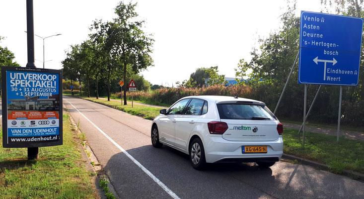 Buitenreclame Automotive Sales Event - Van den Udenhout Helmond - Volkswagen-Audi-SEAT-ŠKODA - augustus 2019 - 36 verkochte auto's in 1 weekend