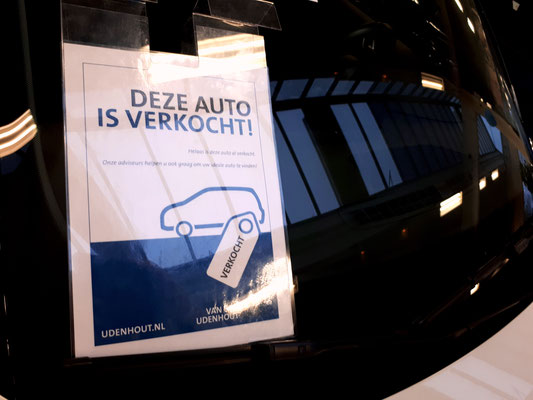 Automotive Sales Event - Van den Udenhout Son (Eindhoven) - Volkswagen-Audi-SEAT-ŠKODA - november 2018 - 64 verkochte auto's in 1 weekend