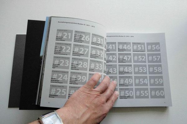 Der Katalog: 50 Ausstellungen im Bunker-D