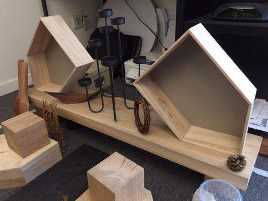 """Au départ, je voulais transformer ces boites en """"mini-caves d'affinages"""" ..."""
