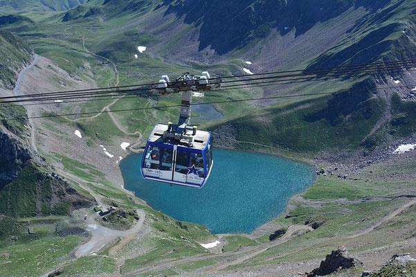 Télécabine pour le Pic du Midi de Bigorre
