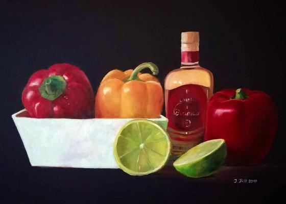 Stillleben, 70 cm x 50 cm (Öl auf Leinwand)