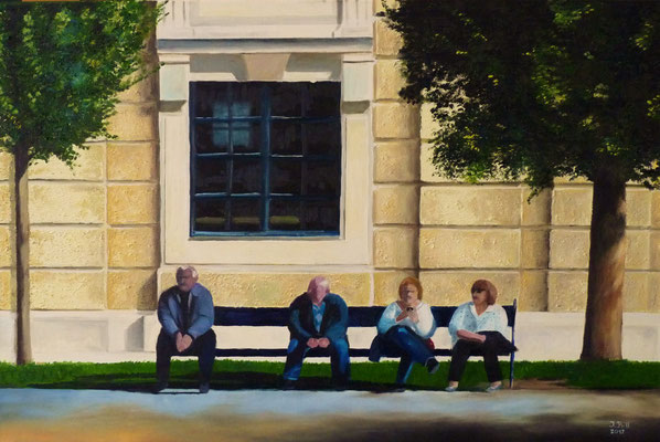 Relaxing, 100 cm x 70 cm (Öl auf Leinwand)