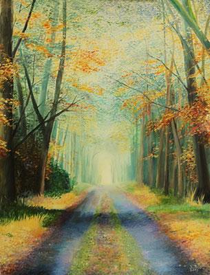 Der andere Weg, 60 cm x 80 cm (Öl auf Leinwand)