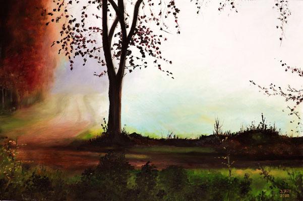 Silence, 60 cm x 40 cm (Öl auf Leinwand)