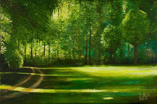 Lust, 40  x 60 cm (Öl auf Leinwand) (VERKAUFT)