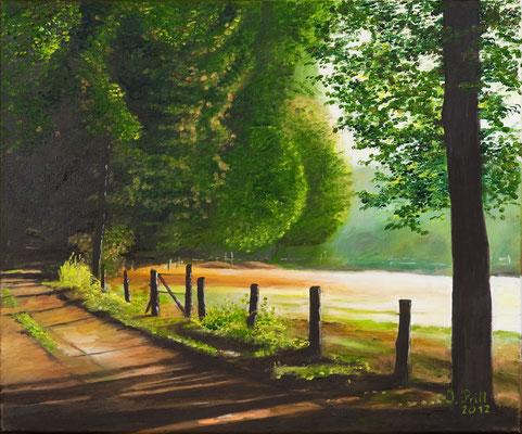 Der Weg ist das Ziel, 50 x 70 cm (Oil on canvas) (SOLD)