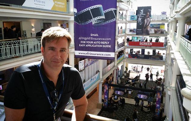 Michael Madison, American Film Market, 2016, afm