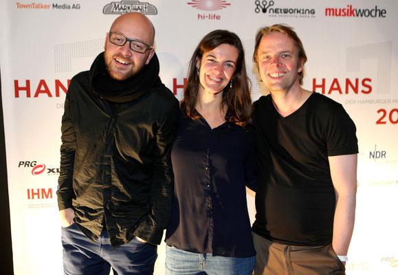 """Das Team von Ensemble Resonanz, nominiert in der Kategorie """"Künstler des Jahres"""""""