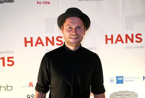 """Johannes Oerding, nominiert für """"Song des Jahres"""" und """"Künstlerentwicklung"""""""