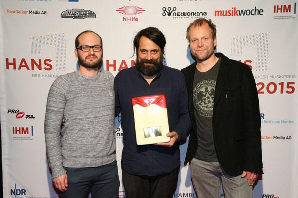 """Der HANS 2015 in der Kategorie """"Künstlerentwicklung"""" geht an das Team um BOY"""