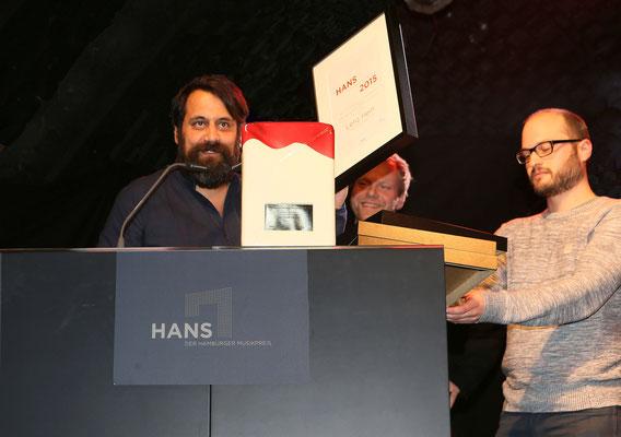 """Der HANS für """"Künstlerentwicklung"""" geht an das Team um BOY"""