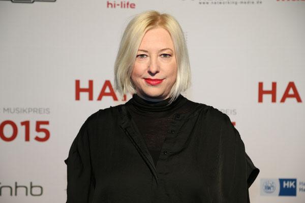 Laudatorin für den Nachwuchspreis: Katja Ruge