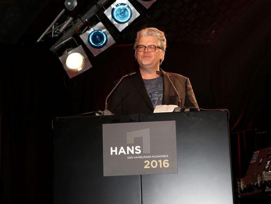 Laudator Sven Bünger