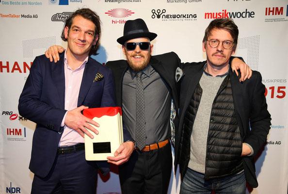 Der Lotse des Jahres: Buback Tonträger GmbH, mit ihrem Laudator Jan Delay