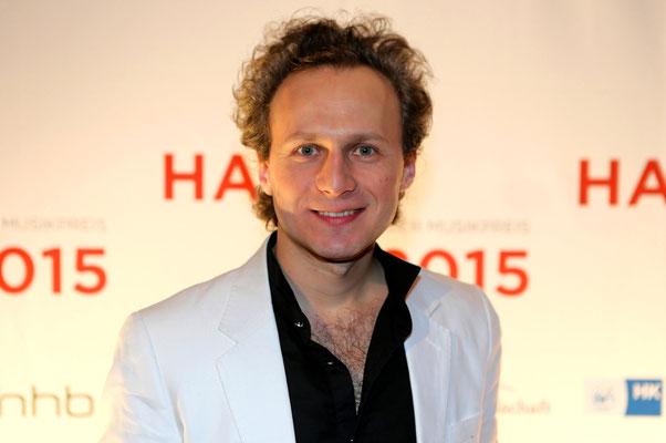 """Leon Gurvitch, nominiert für """"Musiker des Jahres"""""""