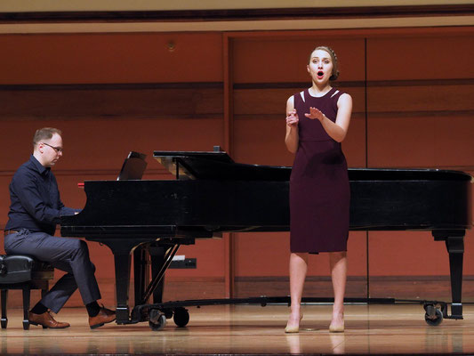 Minnesota district Met auditions with mezzo-soprano Kara Morgan