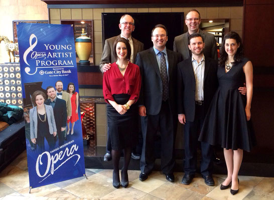Fargo-Moorhead Opera Gate City Bank Young Artists and David Hamilton, General Director