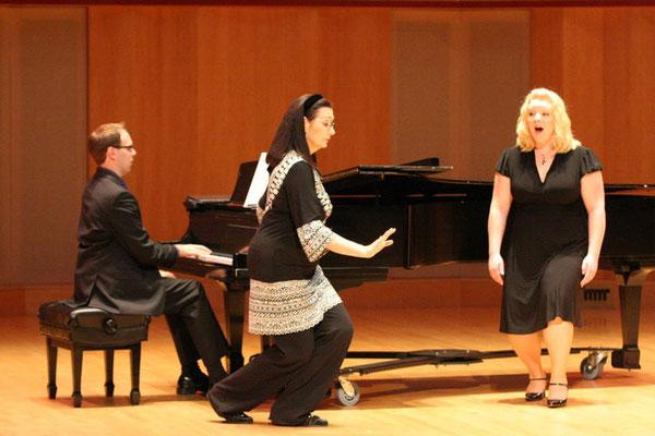 Masterclass with Carol Vaness and soprano Carolyn Cavadini