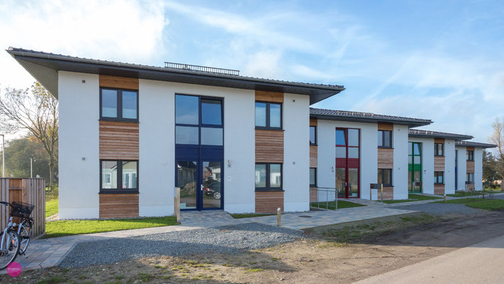 Neubau von 4 Wohnhäusern mit je 4 Wohnungen