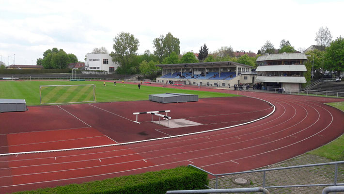 Das Ludwig-Jahn-Stadion in Ludwigsburg.