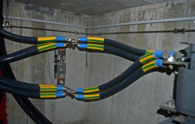 Neutralleitertrenner und UT in TS Aurüteli