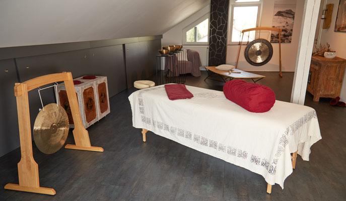 Räumlichkeiten für die Klangschalenmassage in Boppard