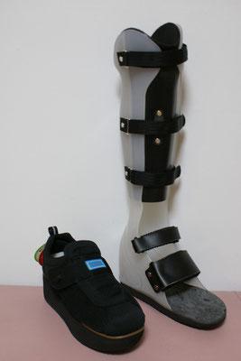 短下肢装具 PTB式(白) 靴付