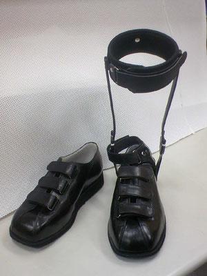 靴型装具。