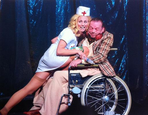 Janet (mit Lutz Gebhard) ROCKY HORROR SHOW 2014