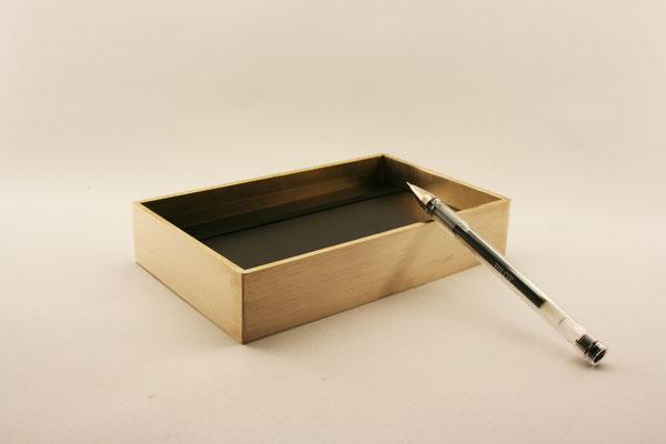 Brass Case. A | 16 x 11,5 x 3 cm | brass