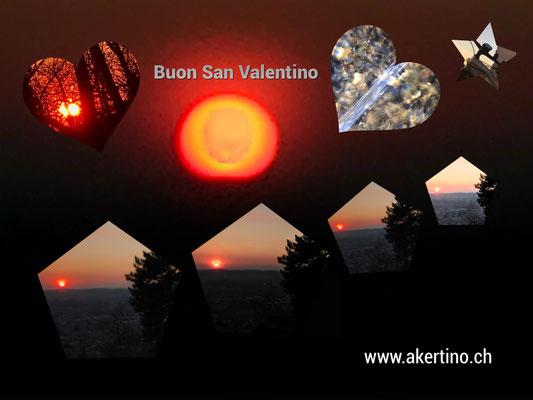 tramonto 3 fantastico con Chiesa San Rocco Salorino