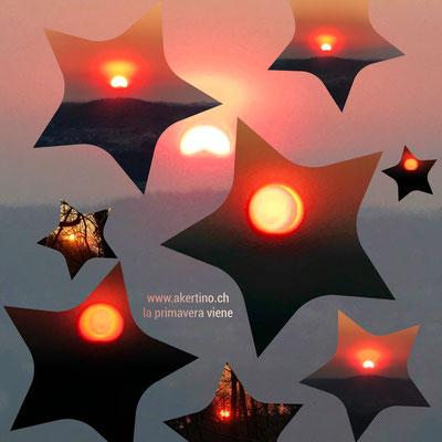 Tramonto 5 con stelli