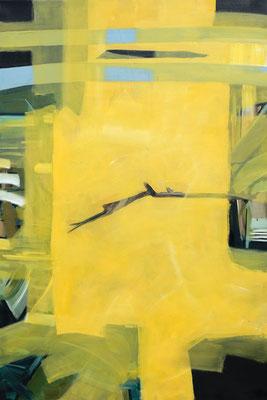 """Eklipse"", 150x100 cm, Öl auf Leinwand, 2019"