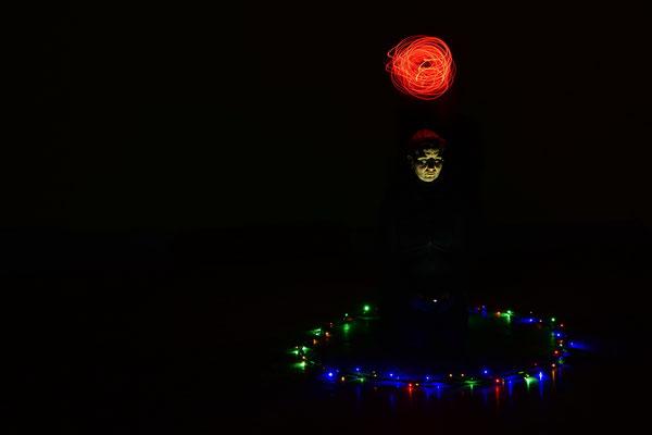 Lightpaintingprojekt Februar 2017