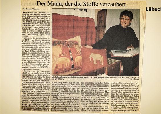 Lübecker Nachrichten vom 6. Februar 2004