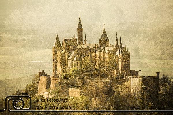 Burg Hohenzollern I - Mehrfachbelichtung