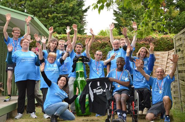 L'équipe L'ADAPT de Mayenne