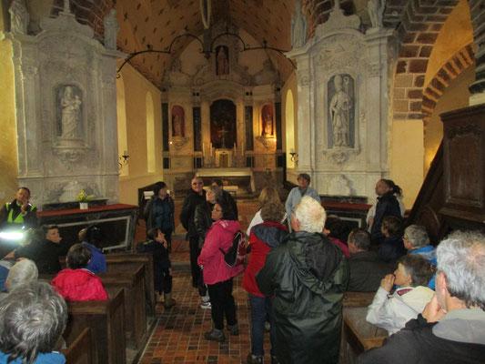 L'église de Epineux le Seguin. Un peu d'hisoire...