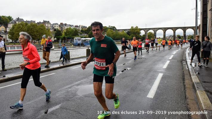 Marie Thérèse au finish...